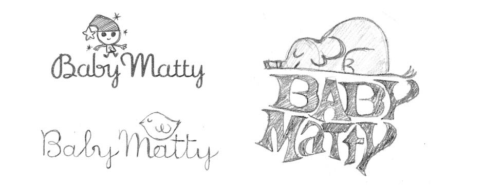 Baby Matty sketches